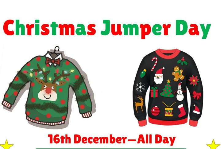 Image result for christmas jumper day 16th december 2016