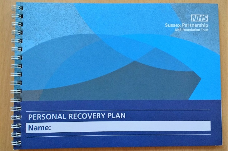 Personal Recovery Plan booklet - Pathfinder