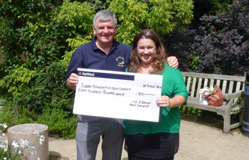 Pitch perfect fundraising by local golf society