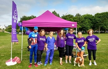 Worthing parkrun and Heads On team up for NHS70