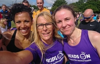 Kelly Holmes in Worthing for 100th parkrun