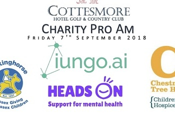 Heads On is Ladies Captain Charity of the Year at Cottesmore Golf Club