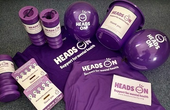 Paint It Purple with Heads On on World Mental Health Day 10 October 2019