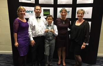More Radio Award for Christopher to recognise his fundraising