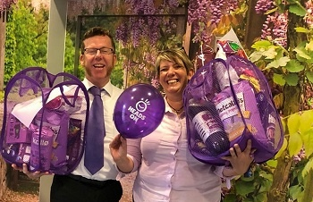 Heads On Paint It Purple on World Mental Health Day 2018