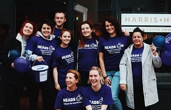 Harris and Hoole Chichester South Street team brave the rain for relay race fundraiser
