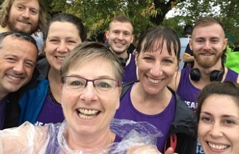 Heads On Royal Parks Half Marathon Team fundraising is a runaway success