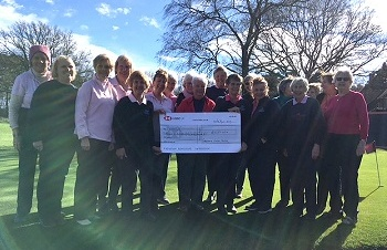 Heads On Delighted to Receive Cheque from Cottesmore Ladies