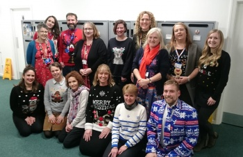 Fab-yule-ous Christmas Jumper Day at St. Annes