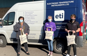 Local business, ETI Ltd, provide care packs for 250 carers
