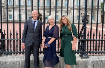 NHS heroes from Sussex join The Duke of Cambridge for a 'Big Tea' at Buckingham Palace as thousands hold their own events to say thank you to the NHS